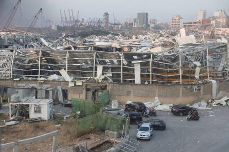 Explozii puternice în Beirut: Cel puțin 73 de morți și peste 3.700 de răniți (FOTO / VIDEO)