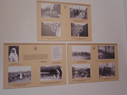 Expoziţia fotografică 'Familia regală a României pe frontul Marelui Război', vernisată în Cetatea Oradea (FOTO)