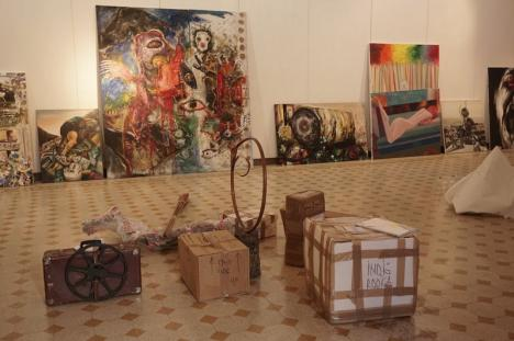 Orădenii expun artă la Roma, de Ziua Naţională