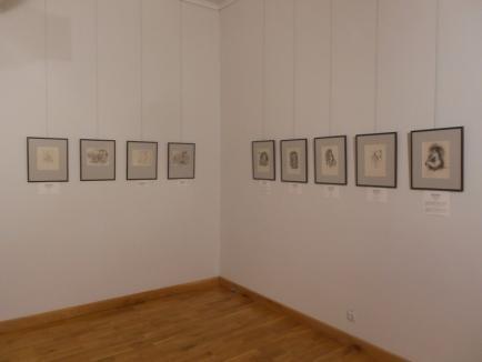 Artă cu renume la Muzeul Ţării Crişurilor: a fost deschisă expoziţia de lucrări van Gogh şi Renoir (FOTO)