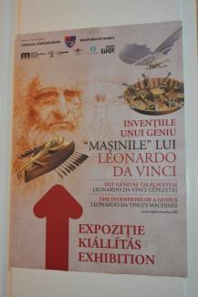 'Maşinile' lui Leonardo da Vinci sunt la Oradea. Vezi cum arată expoziţia! (FOTO/VIDEO)