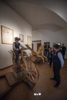 Da Vinci pentru copii: expoziţie inedită şi de senzaţie în Cetatea Oradea (FOTO)