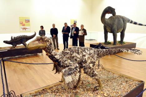 Invitaţie la Muzeu: Ultimii dinozauri din Transilvania, expuşi la Oradea (FOTO)