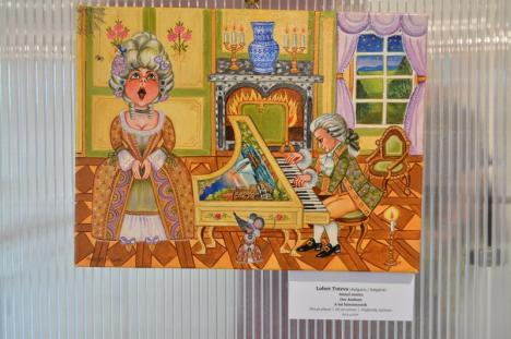 Culoare și veselie: S-a deschis Salonul Internațional de Artă Naivă, la Muzeul Țării Crișurilor (FOTO)