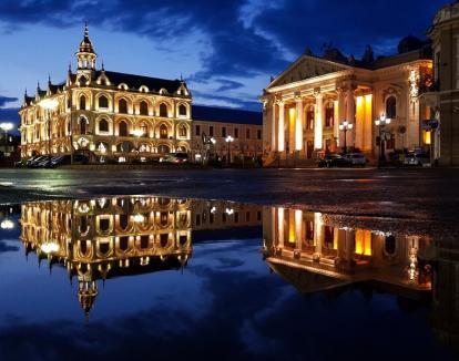 'Oradea, oraşul meu îndrăgit': expoziţie de fotografie în Turnul Primăriei (FOTO)