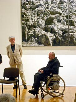 'Şi vremea vremuieşte...': Expoziţia artistului plastic Jovián György a fost vernisată la Muzeul Ţării Crişurilor (FOTO)