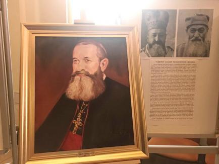 Portretele celor șapte episcopi martiri greco-catolici, prezentate Papei Francisc la Blaj, au fost aduse la Oradea (FOTO)