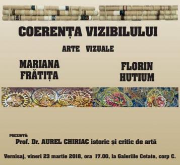 Coerenţa vizibilului: Artişti din Târgu Jiu expun la Oradea