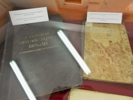 Documente interesante ale Episcopiei Romano-Catolice, expuse la Arhivele Naţionale din Oradea (FOTO)