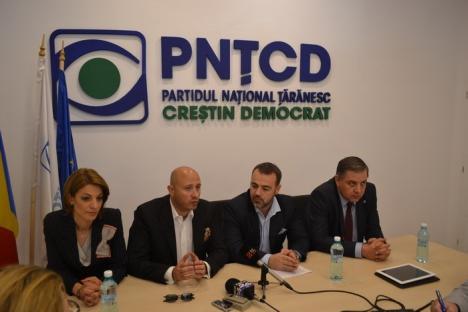 PNŢCD s-a relansat în Bihor odată cu inaugurarea noului sediu (FOTO)