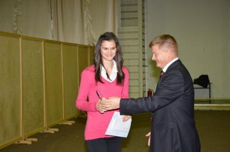 Cornelia Deiac şi Marius Ilaş au fost desemnaţi sportivii anului la CSU Oradea (FOTO)