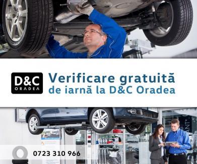 Verificare gratuită de iarnă la D&C Oradea