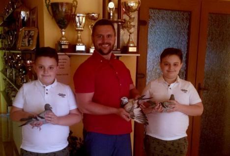 S-a dat startul sezonului de concursuri cu porumbei voiajori în Bihor. Familia Lucaci câştigă primele 3 locuri