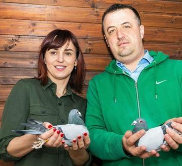 Campionatul porumbeilor voiajori: Al treilea concurs de viteză câştigat de familia Tunduc