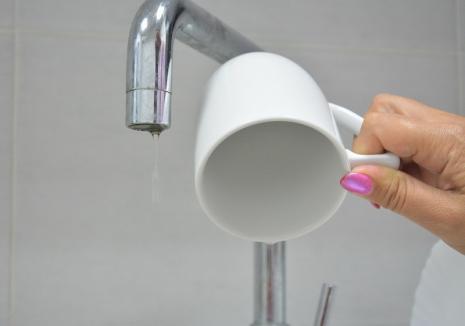 CAO spală magistralele: Orădenii de pe malul stâng al Crișului rămân două nopți la rând fără apă