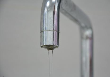 Compania de Apă Oradea: Presiune scăzută la robinete aproape toată săptămâna în mai multe zone ale orașului