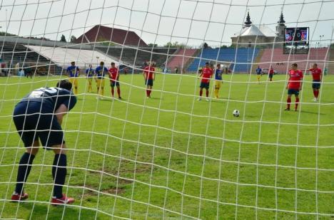 FC Bihor va întâlni miercuri, la Piteşti, echipa argeşeană CS Mioveni