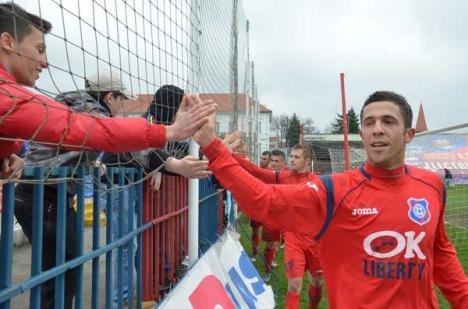 Deşi a avut liber, FC Bihor a urcat pe locul doi în clasament