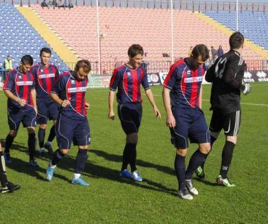 FC Bihor întâlneşte, sâmbătă, pe teren propriu, ACU Arad