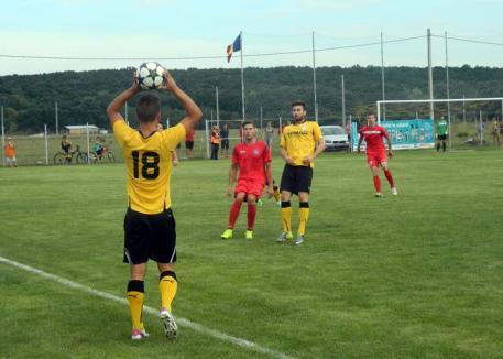 CS Oşorhei a remizat, cu 1-1, în primul joc din returul Ligii a III-a