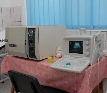 Spitalul de Pneumoftiziologie va avea un ecograf abdominal performant