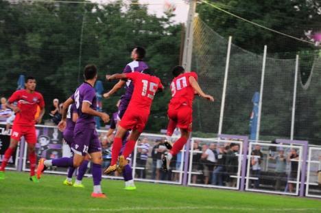 FC Bihor s-a impus cu 2-0 în jocul de la Timişoara, cu ASU Poli