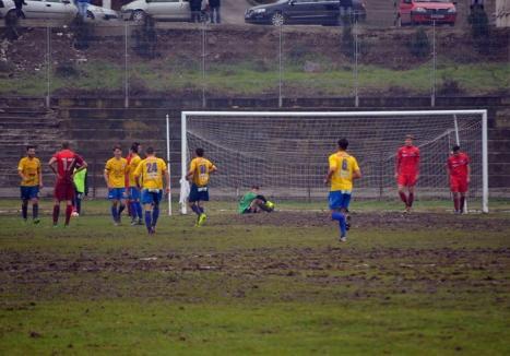 FC Bihor a cedat cu 6-0 ultimul joc oficial din acest an, de la Baia Mare