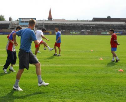 FC Bihor, în cantonament la Debrecen