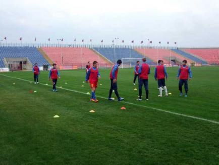 FC Bihor întâlneşte Victoria Avram Iancu, într-un joc amical