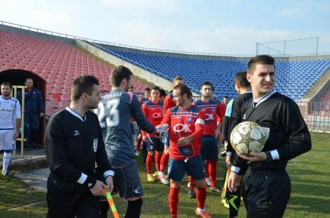 """Începe returul: FC Bihor întâlneşte sâmbătă, la Stadionul Municipal """"Iuliu Bodola"""", echipa CS Mioveni"""
