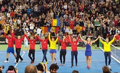 Le-au 'executat'! Fără Simona Halep, tenismenele din echipa României le-au învins pe canadience în Fed Cup la Cluj