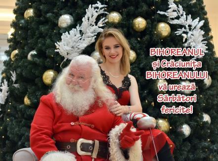 BIHOREANUL și Crăciunița lui vă urează Crăciun fericit!