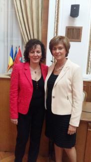 Noua șefă a femeilor liberale din Oradea este doctoriţa Camelia Buhaş