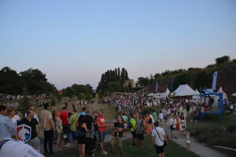 Festivalul Medieval din Cetatea Oradea: Aplauze îndelungate la turnir şi alte lupte medievale, dar şi pentru 'cavalerul' Alifantis (FOTO / VIDEO)