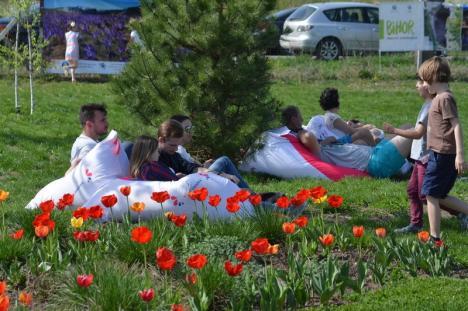 Festivalul Primăverii de la Santăul Mic, un succes: Lume multă, atmosferă colorată, muzică de calitate (FOTO / VIDEO)