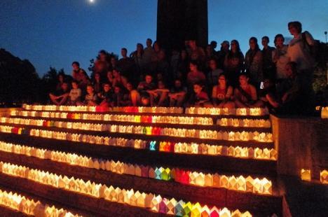 Festivalul Luminii, sărbătoarea lucrurilor mărunte la care sunt invitaţi toţi orădenii