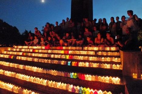 O nouă încercare: Orădenii, invitaţi vineri la Festivalul Luminii