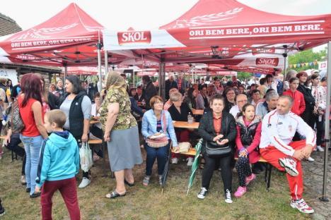 Festin culinar românesc la Salonta: Peste 1500 de oameni s-au înghesuit la Festivalul Sarmalelor (FOTO / VIDEO)
