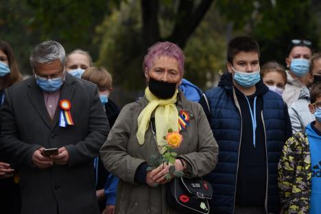 Apel la vaccinare al primarului Birta, la ceremonia de Ziua Oradiei: 'Este singura soluţie să trecem cu bine peste aceste vremuri' (FOTO / VIDEO)