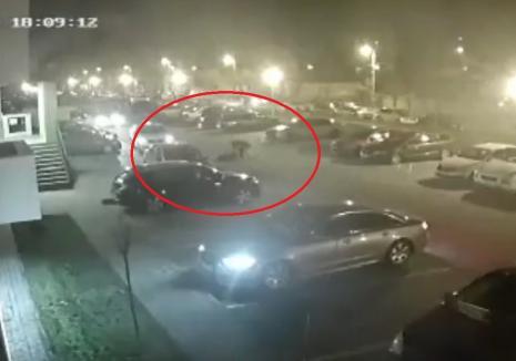 Filmare șocantă cu fostul șef al Poliției Locale Oradea înjunghiindu-și soția. Martorii nu au intervenit (VIDEO)