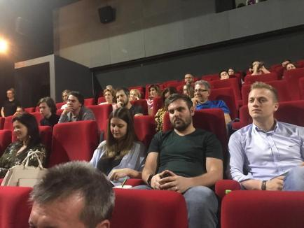 """Tudor Giurgiu și-a prezentat cel mai nou film la Oradea: """"Parking"""" spune povestea emigrantului român (FOTO)"""
