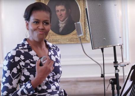 Prima doamnă a Statelor Unite cântă rap într-un videoclip (VIDEO)