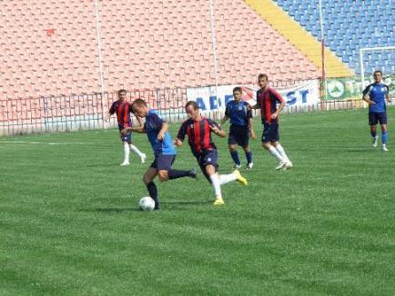 Trei orădeni de la FC Bihor, convocaţi la lotul naţional
