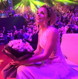 Orădeanca Florena Ticu Şandro, pe locul al treilea în finala Eurovision România (VIDEO)