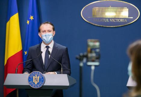 Premierul Florin Cîţu vorbeşte despre 'revenirea la normalitate', începând cu 1 iunie (VIDEO)
