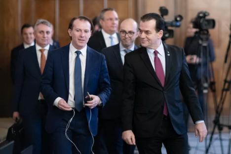 Președintele PNL, Ludovic Orban, și premierul Florin Cîțu vin la Oradea, să ceară sprijinul lui Bolojan și al liberalilor bihoreni în lupta pentru șefia partidului