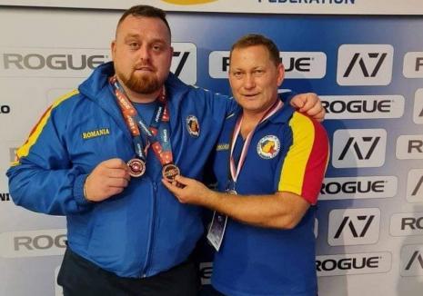 Două medalii de bronz pentru orădeanul Ionuţ Florin Lupaş, la Campionatului European de Powerlifting (VIDEO)