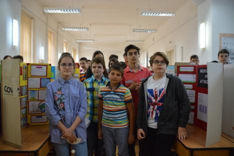 Gojdu, singura şcoală din Bihor cu propria staţie meteo, folosită pentru prognoze chiar de elevi (FOTO)