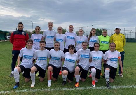 Fotbal feminin: ACS United Bihor a câştigat la 'masa verde' jocul din deplasare cu Onix Râmnicu Sărat