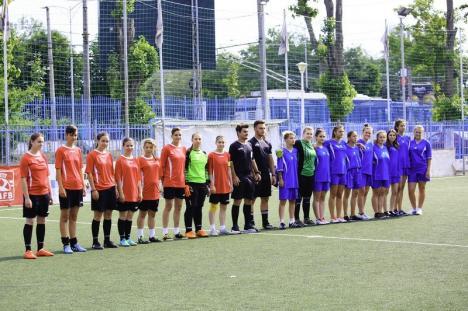 Echipa de fotbal feminin a Colegiului Tehnic 'Alexandru Roman' din Aleşd a cucerit medaliile de bronz la Olimpiada Sportului Şcolar (FOTO)